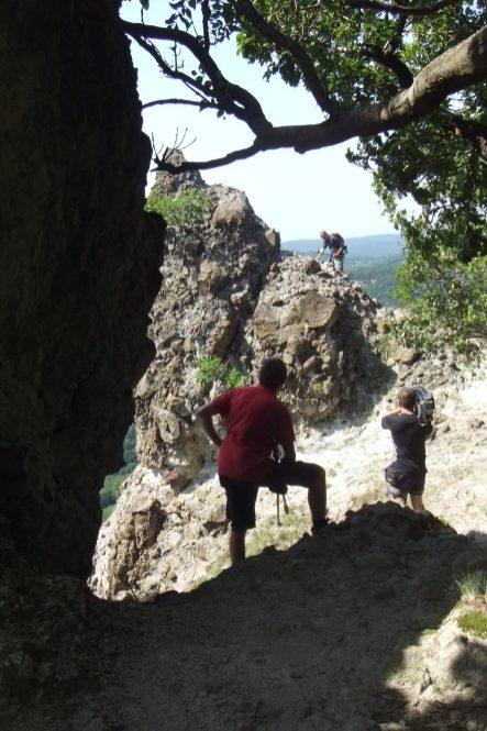 Hazajáró próbaforgatás a Vadálló-köveknél