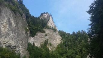 A Sólyomkő a Dunajec áttörése felett