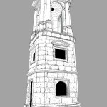 Roman Tower Dark Grey