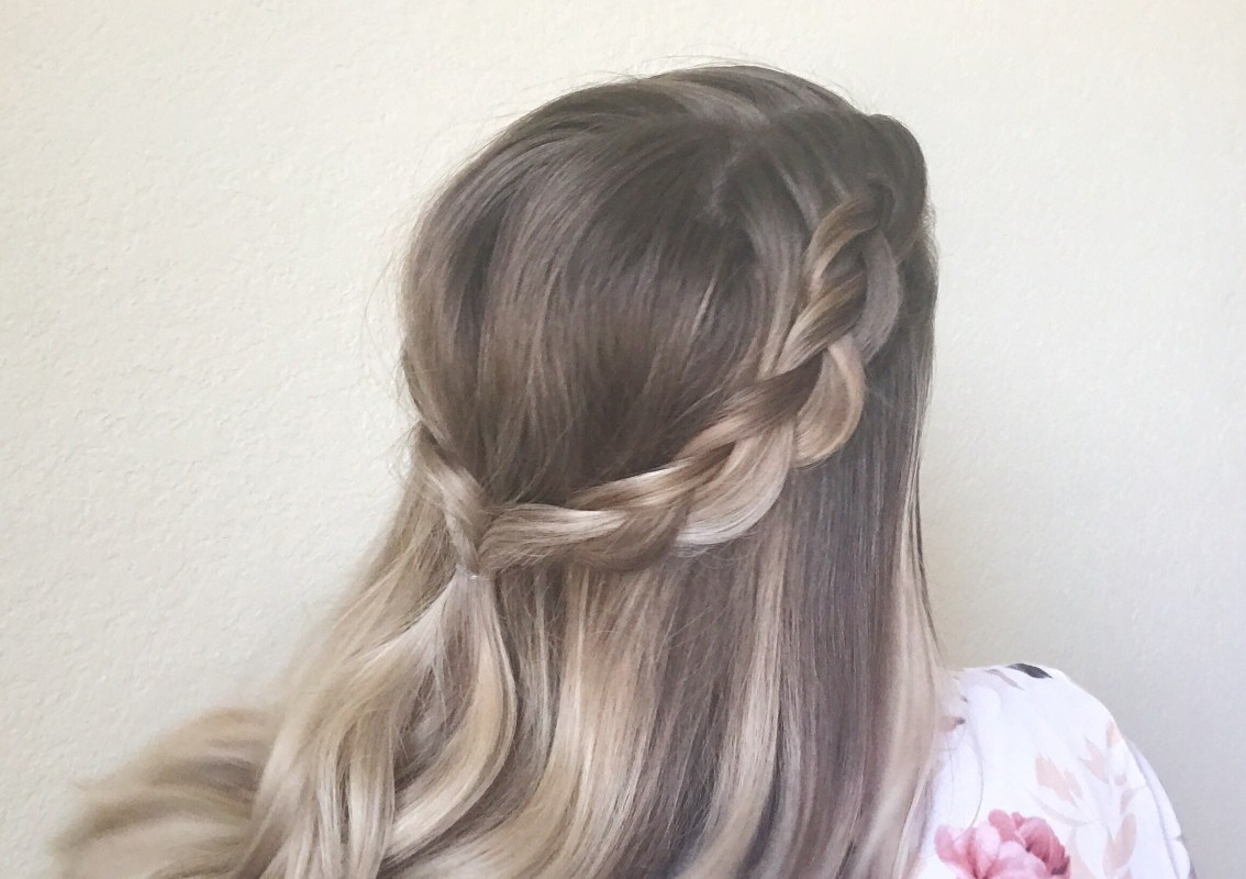 How to Half-up Double Dutch Braids