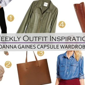 Weekly Outfit Inspiration: Joanna Gaines Capsule Wardrobe