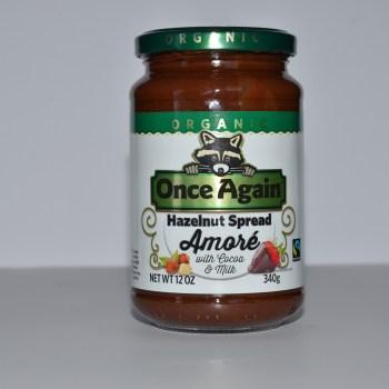 New Organic Hazelnut Spread – Once Again Nut Butter Amoré