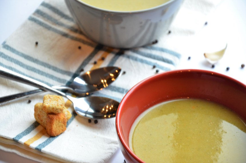 No cream – cream of veggie soup