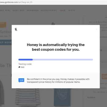 Best way to save money when shopping online