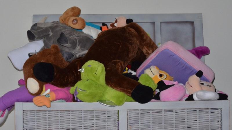 How do you organize your kids stuffed animals?