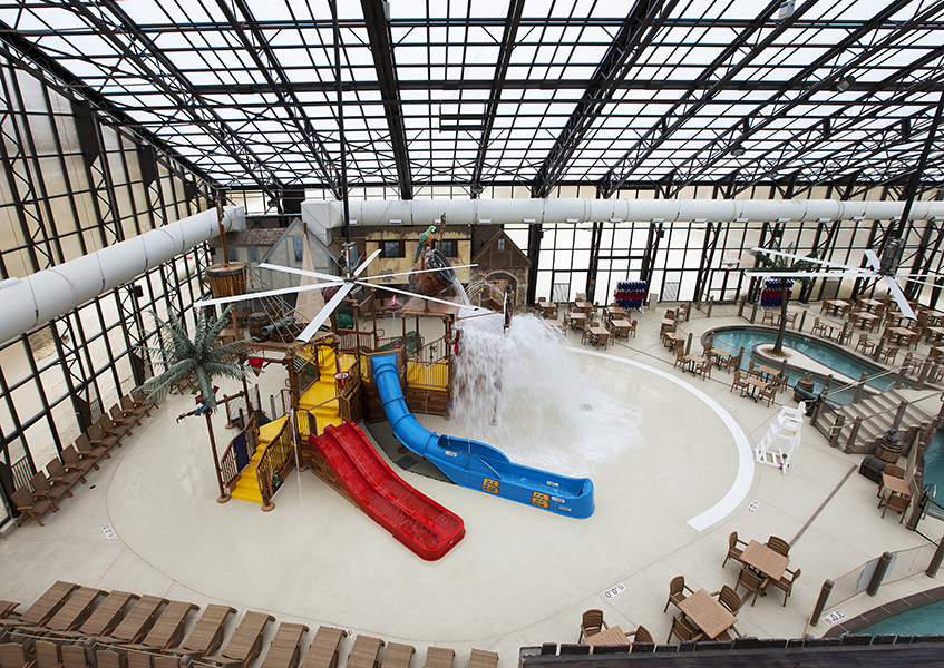 A day trip to Pirates Cay, Indoor Waterpark – Sheridan, IL