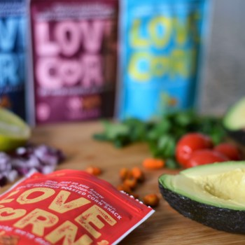 3 ways to enjoy Love, Corn snacks