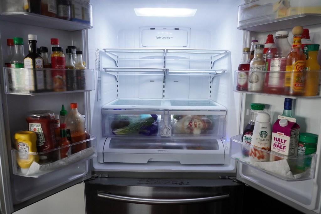 Spectrum Diversified HEXA in fridge bins hazeleyesmom.com