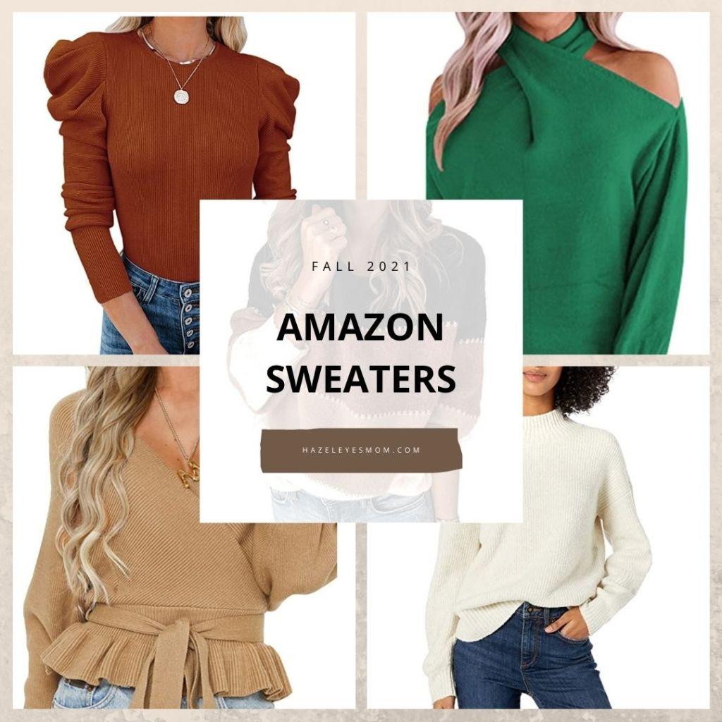 amazon sweaters 2021 hazeleyesmom.com