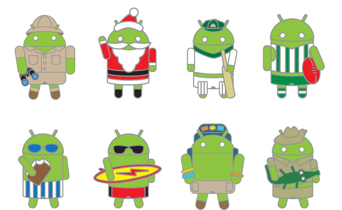 android-pins