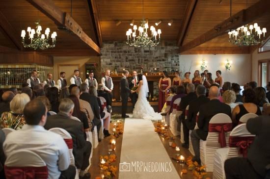 Panorama Room Indoor Ceremony