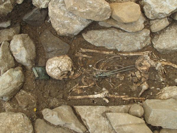 Bronze Age grave 2, Spiez-Einigen