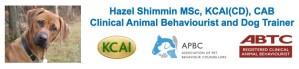 Hazel Shimmin - Clinical Animal Behaviourist and Dog Trainer