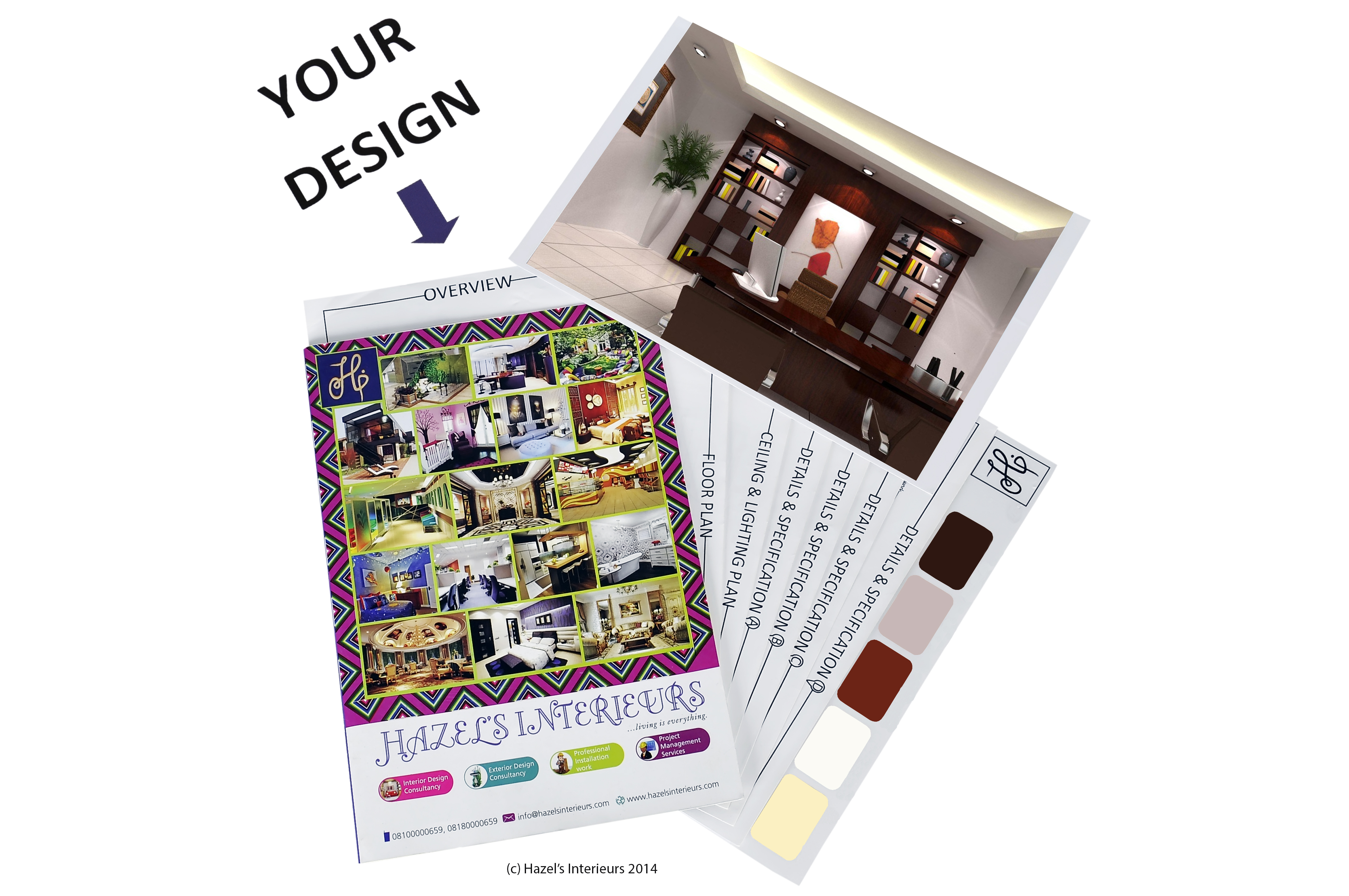 Interior Design Do It Yourself Kit For One Room     HAZEL S INTERIEURS Interior Design Do It Yourself Kit For One Room