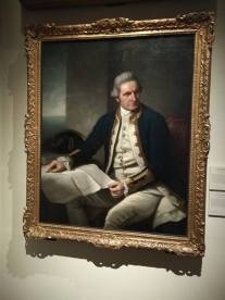 Captain James Cook by Nathaniel Dance (1776)
