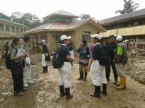 bantuan tiba di SMA Darul Naim