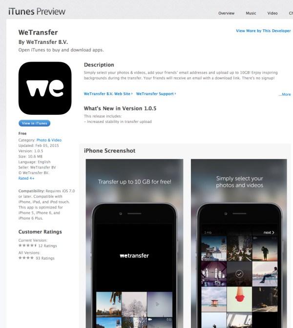 We_Transfer_Mobile_App