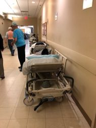 Emergency Patients In The Halls