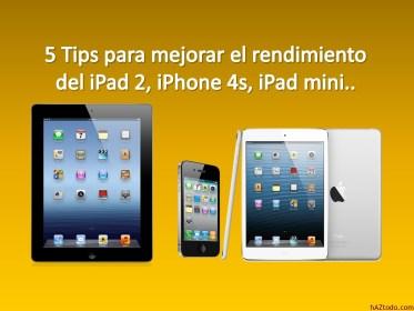 Cómo mejorar rendimiento del iPhone e iPad