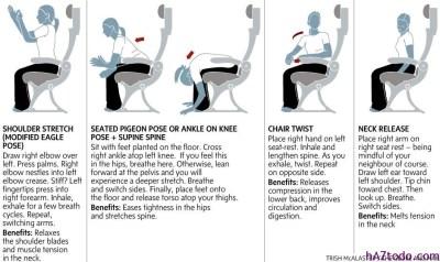 Cómo sobrevivir a un vuelo largo en avión