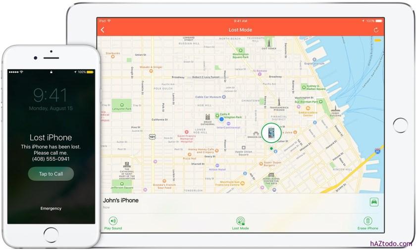 Si pierdes o te roban el iPhone, el iPad o el iPod touch, cómo recuperarlo?