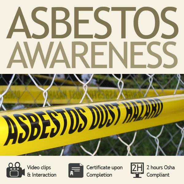 2 hour Asbestos Awareness Training