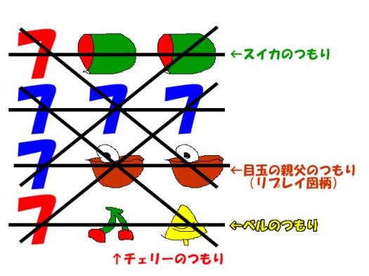 鬼太郎のリール窓イメージ