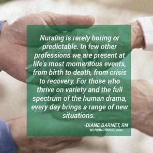 Nursing-is-Rarely-Boring-Diane-Barnet