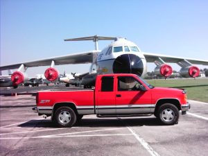Harry's limited edition 1997 GMC Sierra 1500 Extended Cab 4x4 Z71 Off Road at the Air Force Museum in Dayton, Ohio.