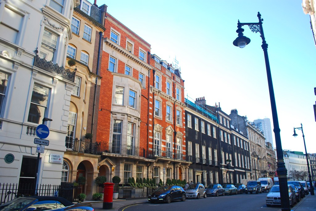 Charles Street - London's most desirable streets