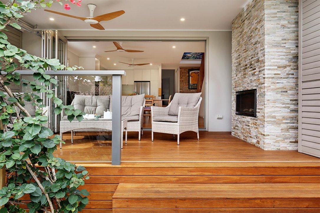 Outdoor Deck Renovation | Helen Baumann Design