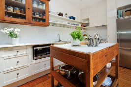 Small Avalon Kitchen Renovation | Helen Baumann Design