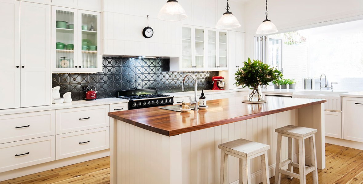 Black and White Kitchen Renovation | Helen Baumann Design