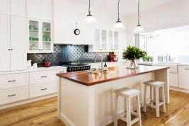 Black and White Kitchen Renovation | Helen Baumann Design
