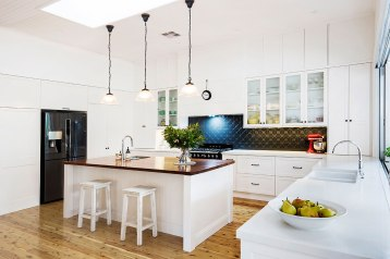 Hamptons Kitchen Makeover | Helen Baumann Design