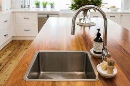 Hamptons Style Kitchen Countertop | Helen Baumann Design