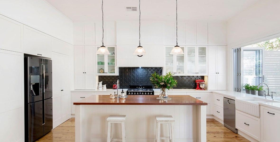 Hamptons Style Kitchen Renovation   Helen Baumann Design