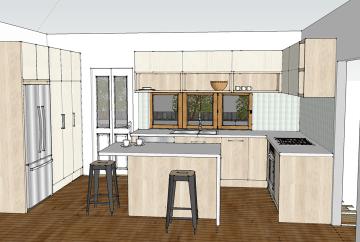 Kitchen Renovation 3D | Helen Baumann Design