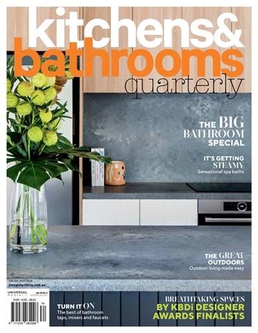Kitchens and Bathrooms Quarterly Issue 26.3 2019 | Helen Baumann Design Finalist