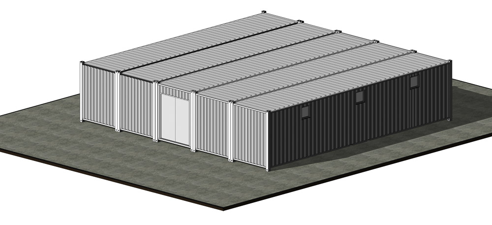 Model of supply container