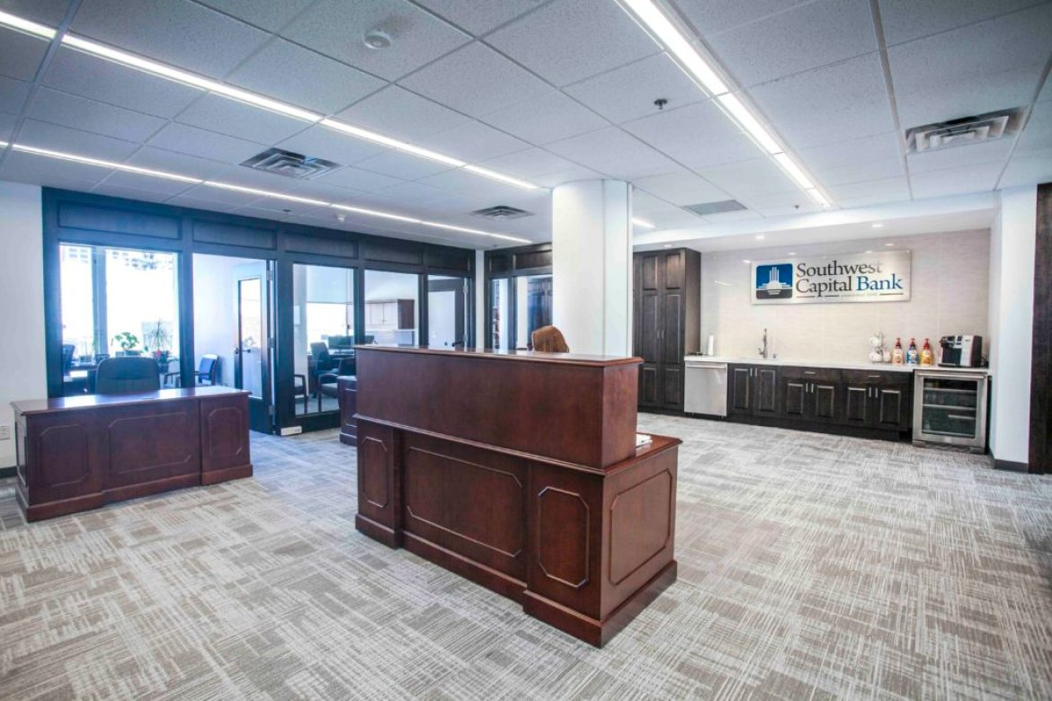 SW Capital Bank Simms Building Renovation