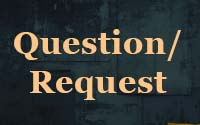 Question or (prayer) request!