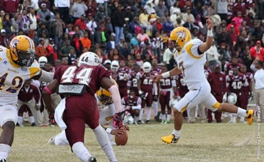 Benedict Football's resurgence will have to wait untul the spring... at least