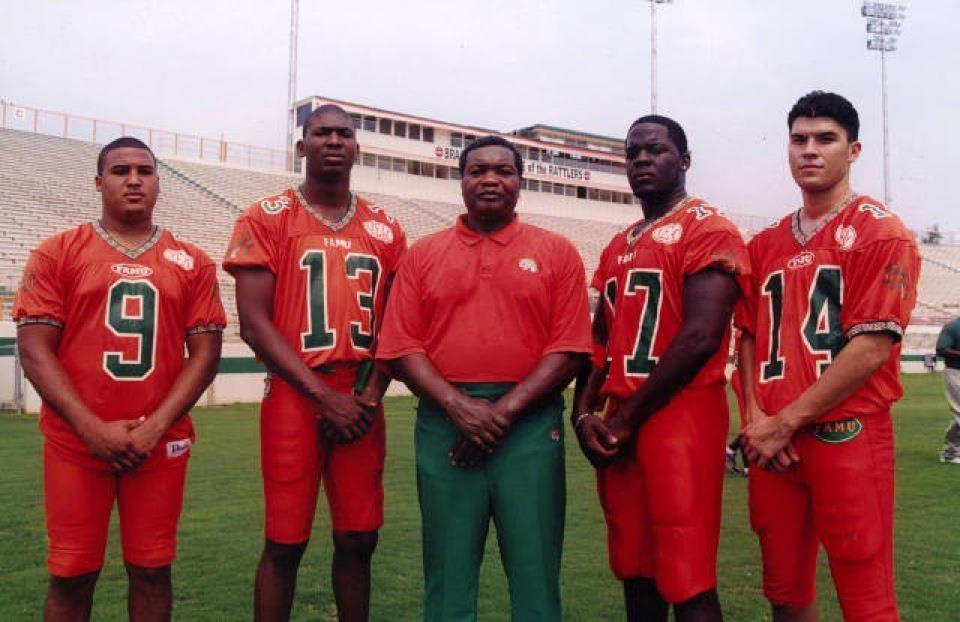 FAMU Billy Joe Quinn Gray throwback