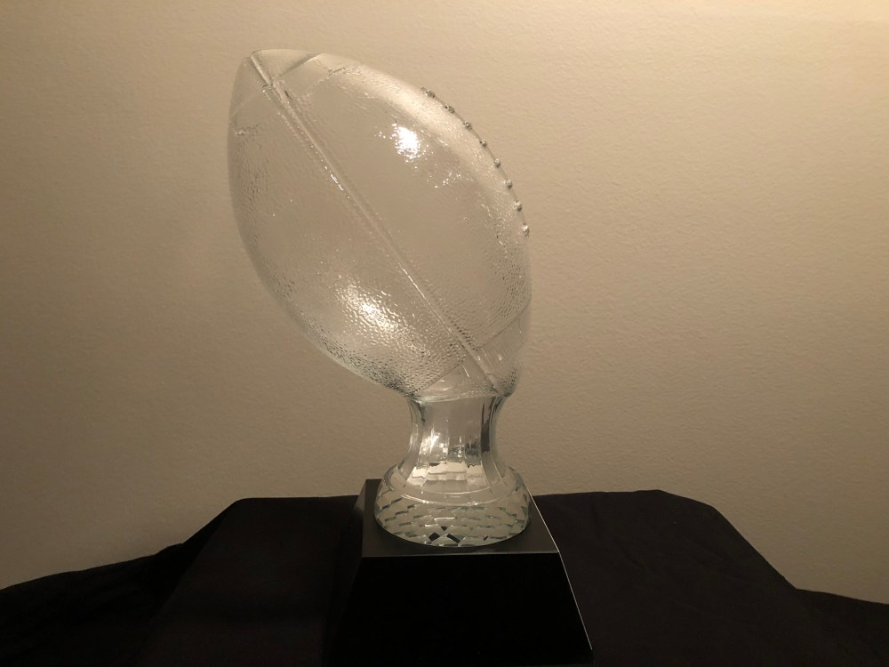 National Player of the year Trophy