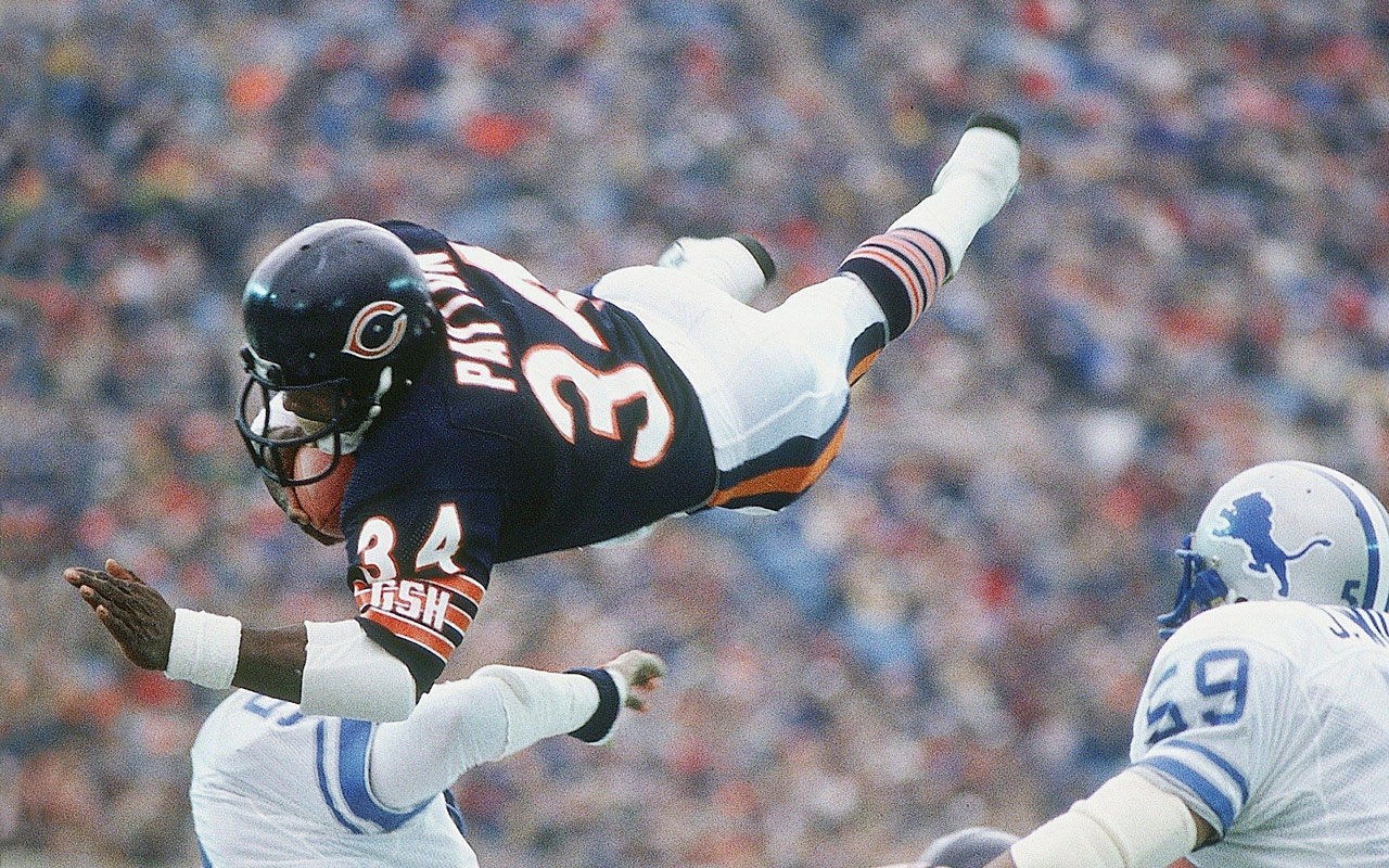 premium selection 8904a 6c9ed Today in History: Jackson State's Walter Payton breaks NFL ...