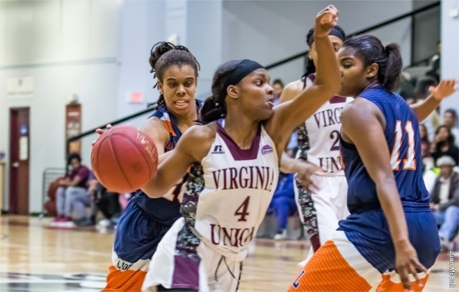 Virginia Union Women Moving Up In National Polls