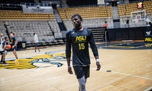 Alabama State basketball practice begins