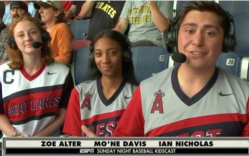 "Mo'ne Davis on ESPN's Little League Classic ""KidsCast"""