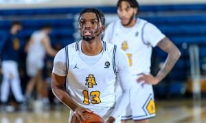 A&T basketball Kam Langley